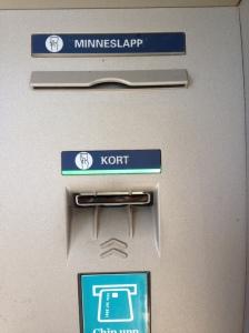 cash machine Sweden