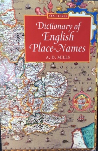 Dictionary of English place names