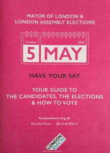Mayoral Elections 5th May