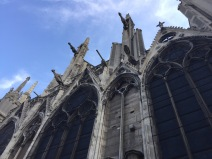 Gargoyles on Notre-Dame de Paris