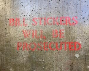Bill Stickers is innocent!