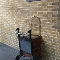 Dashed past Platform 9 3/4 at Kings Cross Station when meeting Mama's train.
