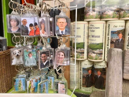 Doc Martin souvenirs - we didn't buy any.
