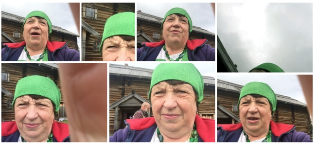 babushki selfies