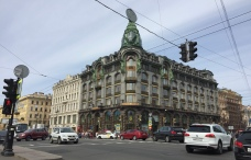 Singer building on Nevsky Prospect