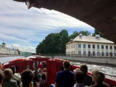 Saint Petersburg by boat