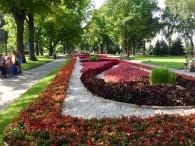 The Kremlin gardens