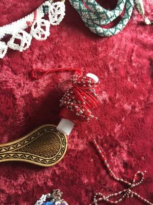 Beaded women's crafts