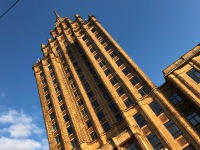 Stalin building - one of just 13 left in the world