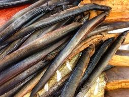 Food market Riga - Eel