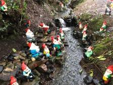 Fishing gnomes.