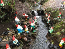 Fishing gnomes.