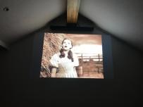 Watching Wizard of Oz on Christmas night