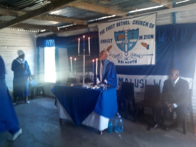 Church 1 of 3: The First Bethel Church of Christ in Zion, Kei Mouth.