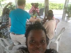 Selfie, Gabon-style.