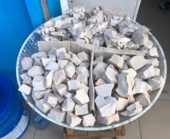 Edible clay.