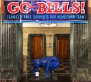 Buffalo Bills display in the Town Hall in Buffalo.
