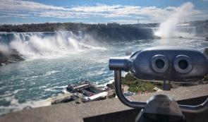 Niagara Falls Canada side.