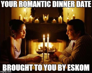 candles on a date