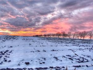 Sunset Moldova