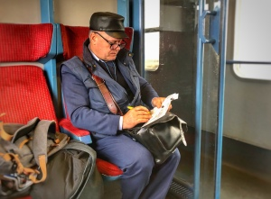 Train conductor Romania