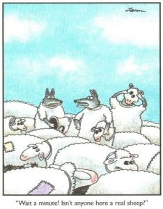 Larson cartoon animal humour