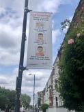 Coronavirus street sign London